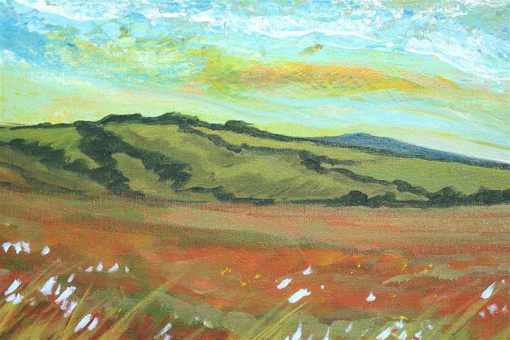 """Prairie Dreaming"" original fine art by Sage Mountain"