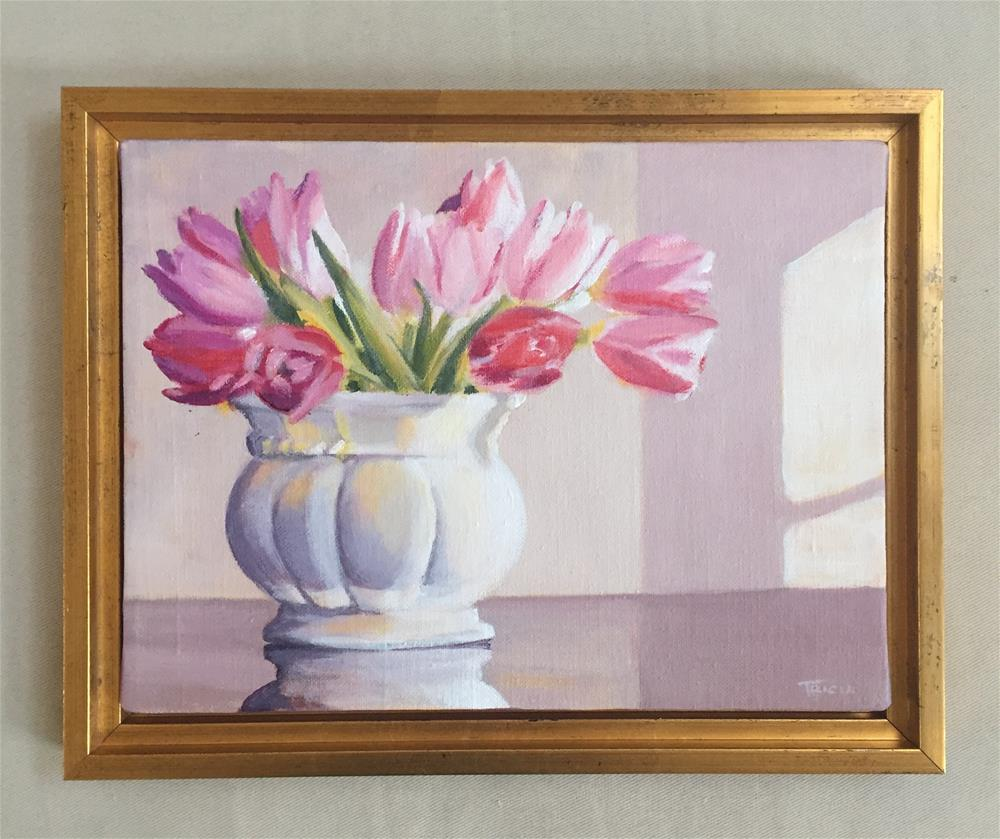"""Afternoon Tulips"" original fine art by Tricia Granzier"