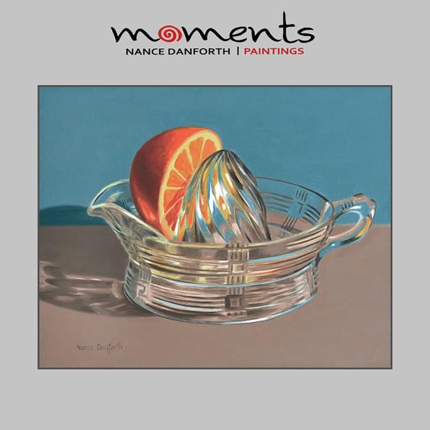 """""""Orange Juicer"""" original fine art by Nance Danforth"""