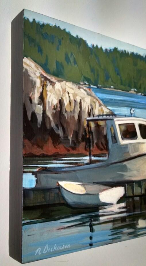 """Swain's Cove"" original fine art by Nat Dickinson"