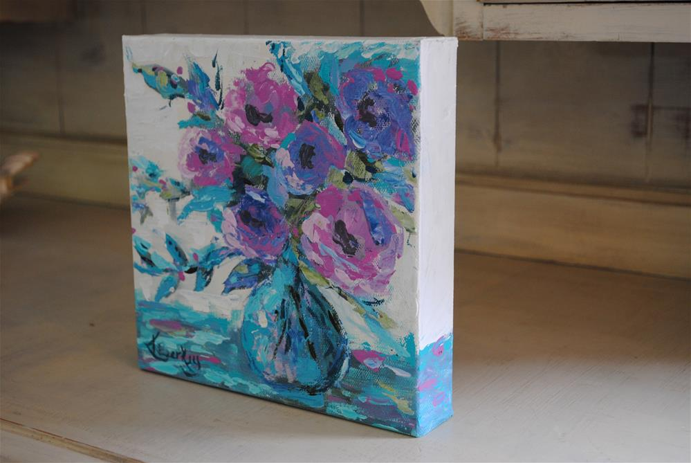 """Floral Love"" original fine art by Kelly Berkey"