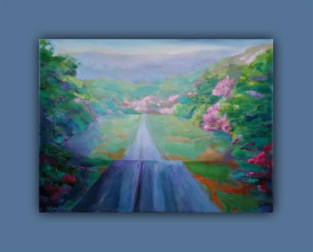 """""""Color-Awe"""" original fine art by Dana C"""