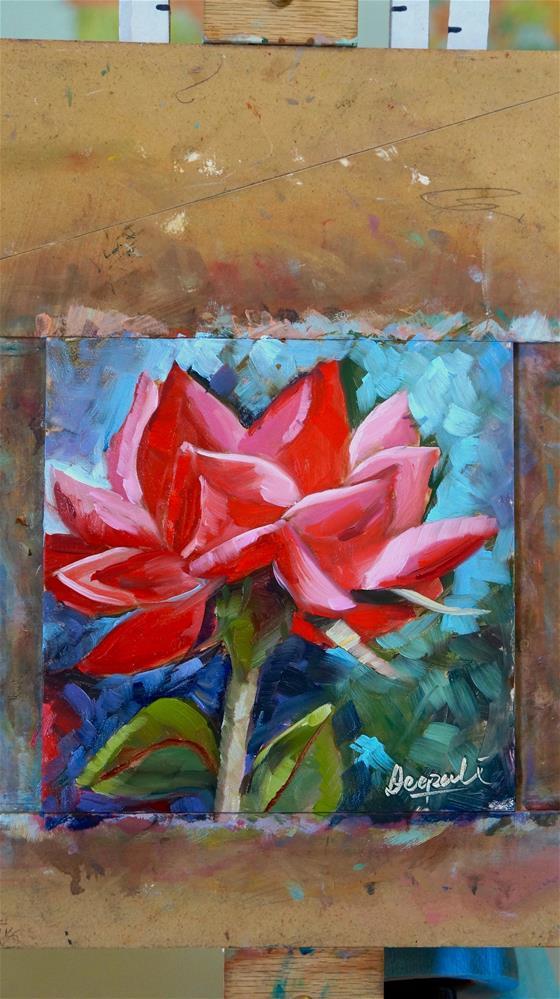 """rose"" original fine art by Dipali Rabadiya"