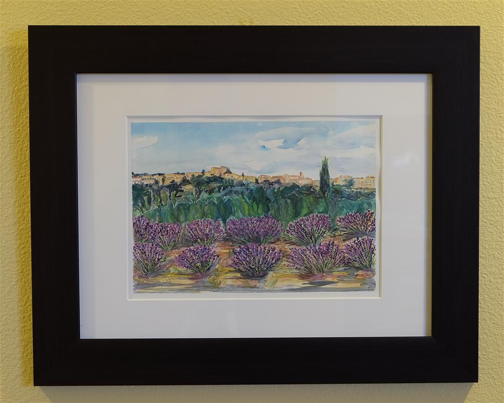 """Lavender Kingdom"" original fine art by Laura Denning"