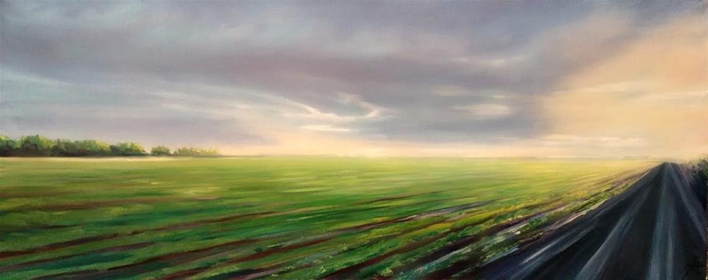 """Sunset Dream"" original fine art by Dana C"