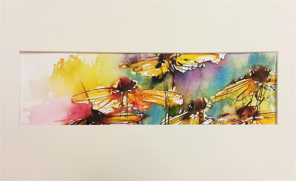 """Rudbeckia 2"" original fine art by Marlena Czajkowska"