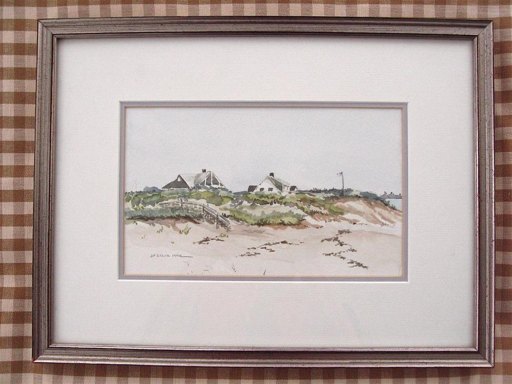 """Sesuit Neck, Cape Cod MA"" original fine art by Judith Freeman Clark"