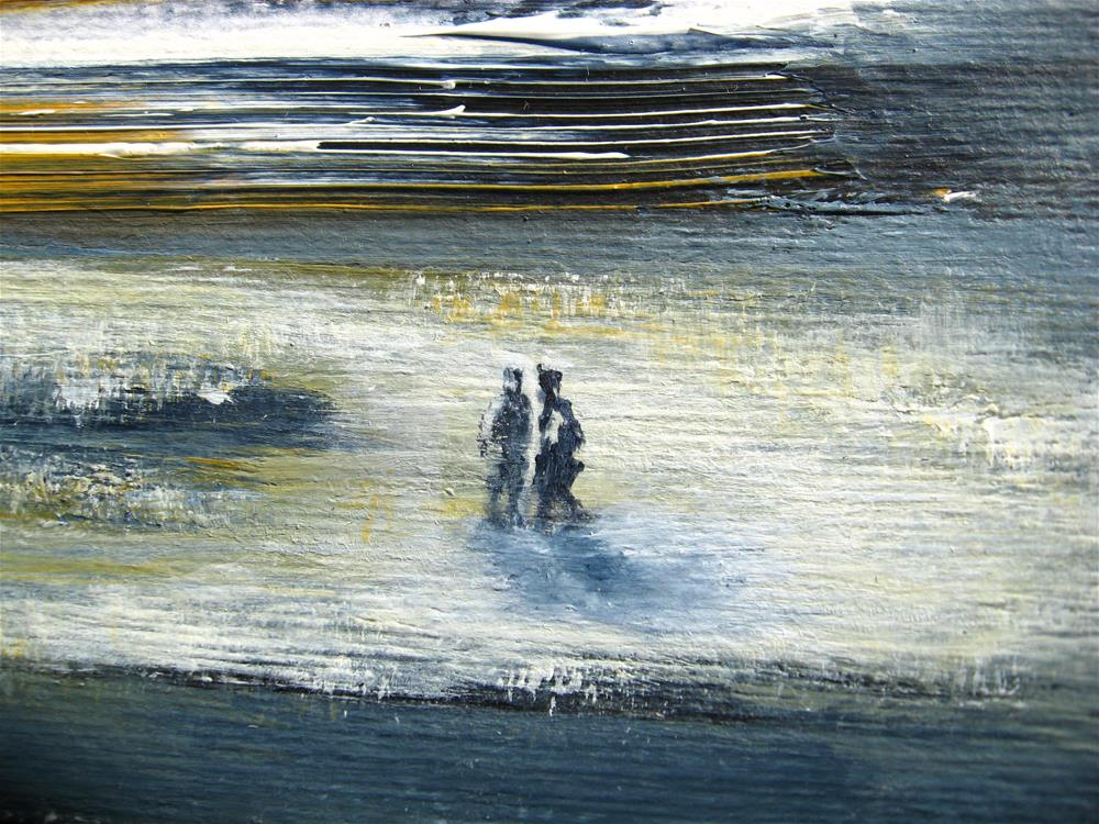 """Winter Walk"" original fine art by Alina Frent"