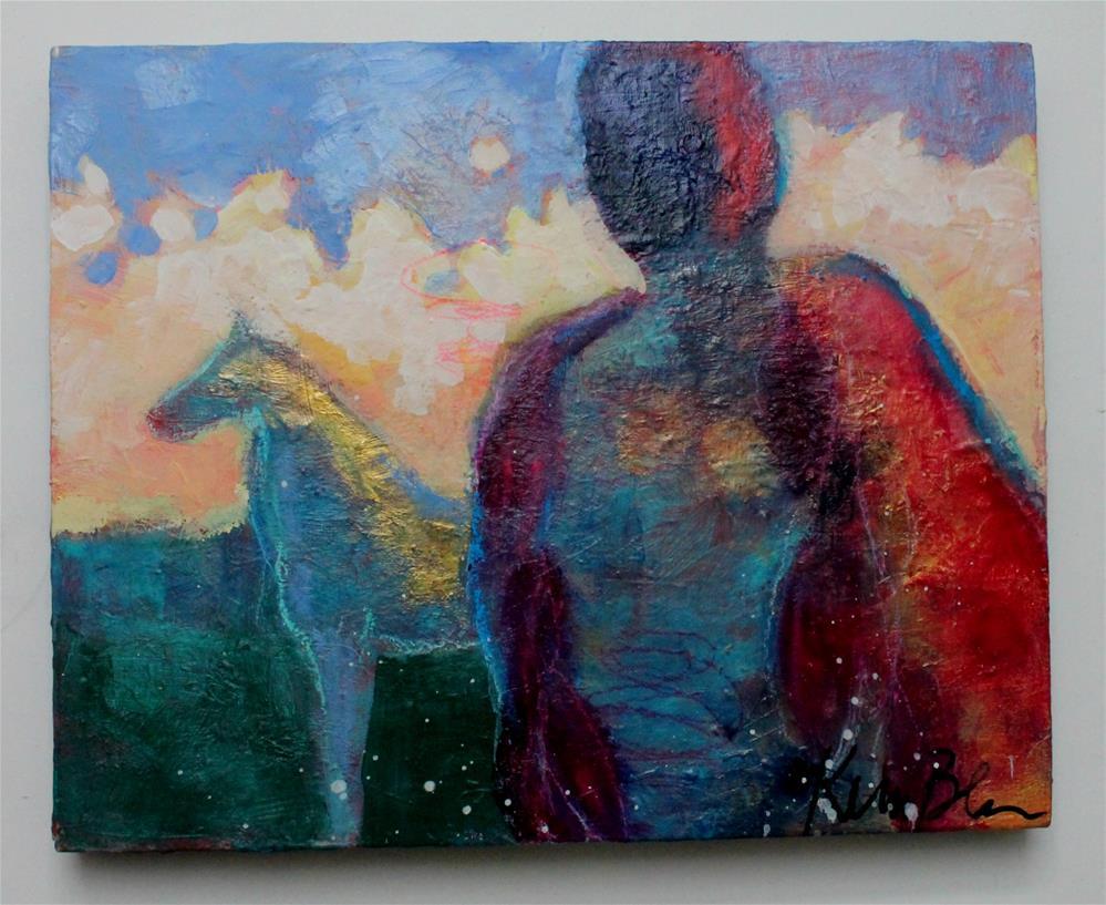 """They Seek the Path Together "" original fine art by Kerri Blackman"