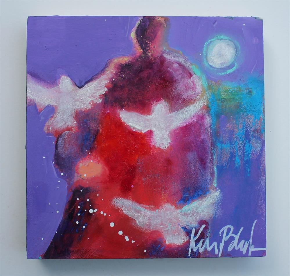 """""""Let the Doves Go """" original fine art by Kerri Blackman"""