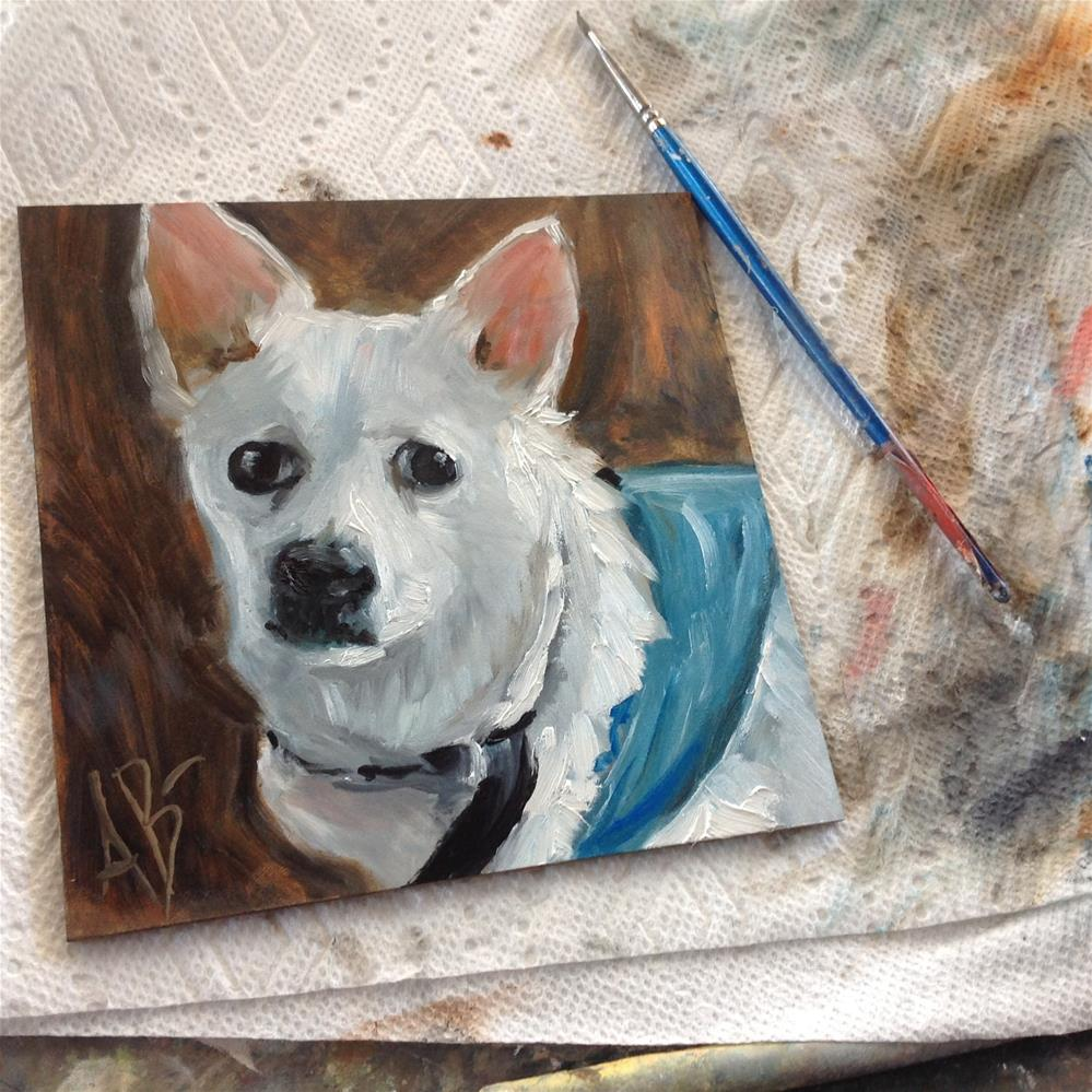 """Betty White"" original fine art by Annette Balesteri"