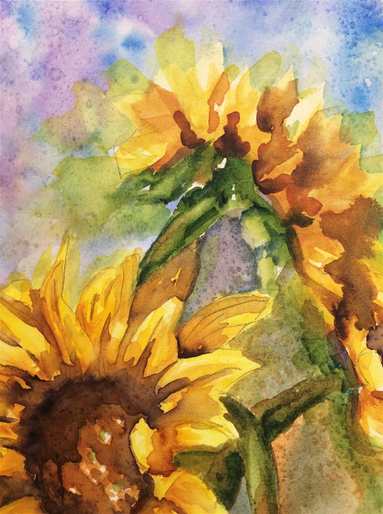 """""""Joyful Joyful"""" original fine art by Molly Rohrscheib Hathaway"""
