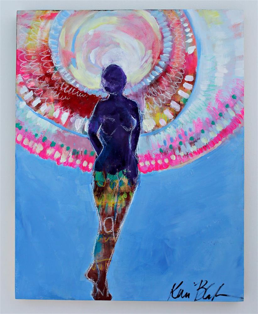 """Take the Next Step "" original fine art by Kerri Blackman"
