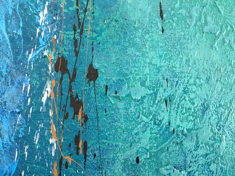 """Shoreline"" original fine art by Nancy Eckels"