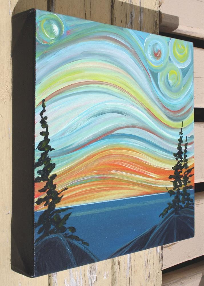 """Colour of the Wind: Sunset"" original fine art by Sage Mountain"