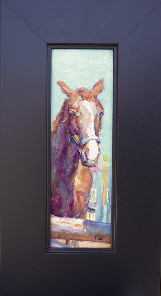"""Horse No. 1"" original fine art by Dimitriy Gritsenko"