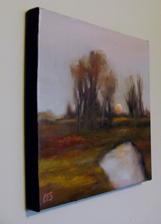 """October Rust"" original fine art by ~ces~ Christine E. S. Code"
