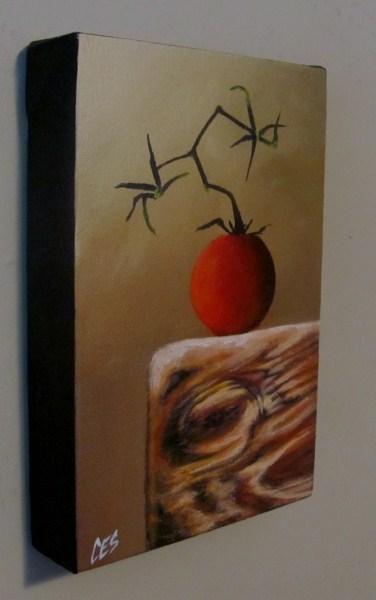 """""""Garden Tomato"""" original fine art by ~ces~ Christine E. S. Code"""