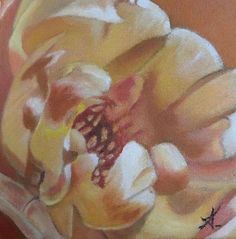 """flower internal"" original fine art by Konstantia Karletsa"