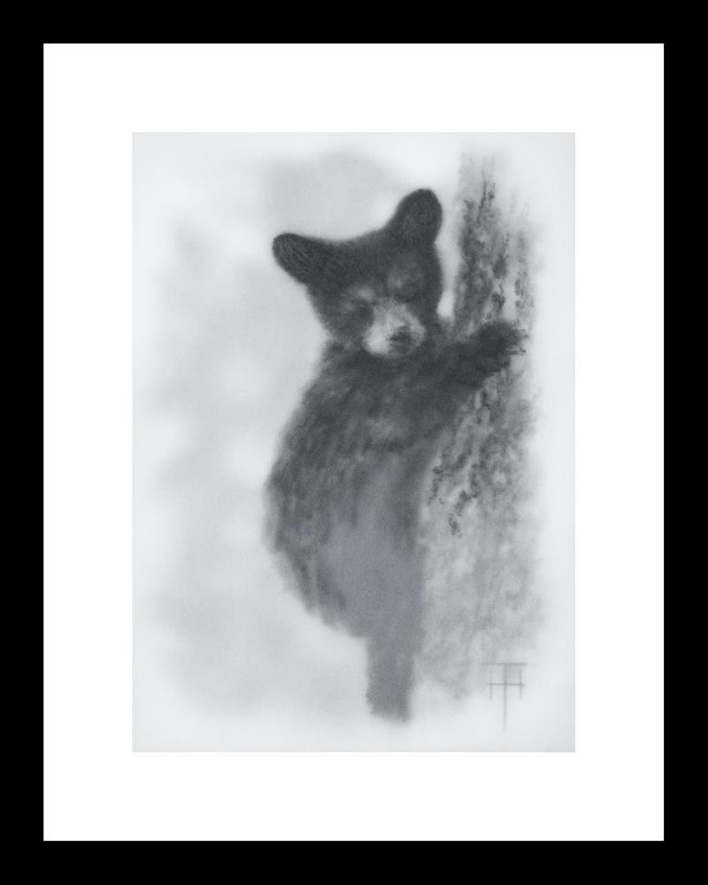 """I See You"" original fine art by Terri Heinrichs"