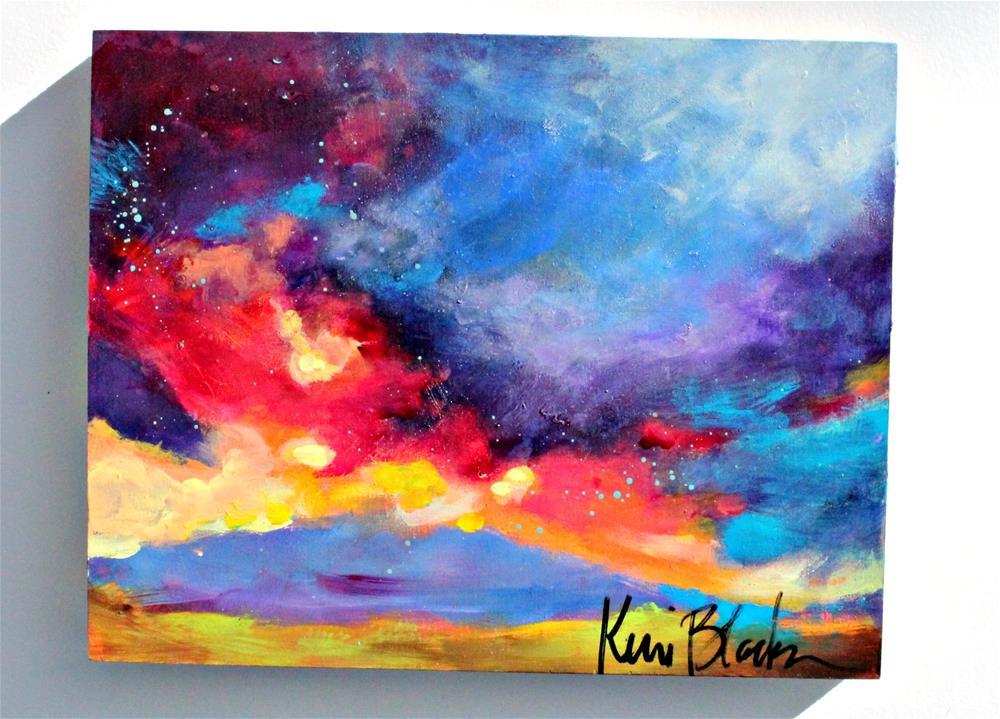 """Storm Coming In"" original fine art by Kerri Blackman"