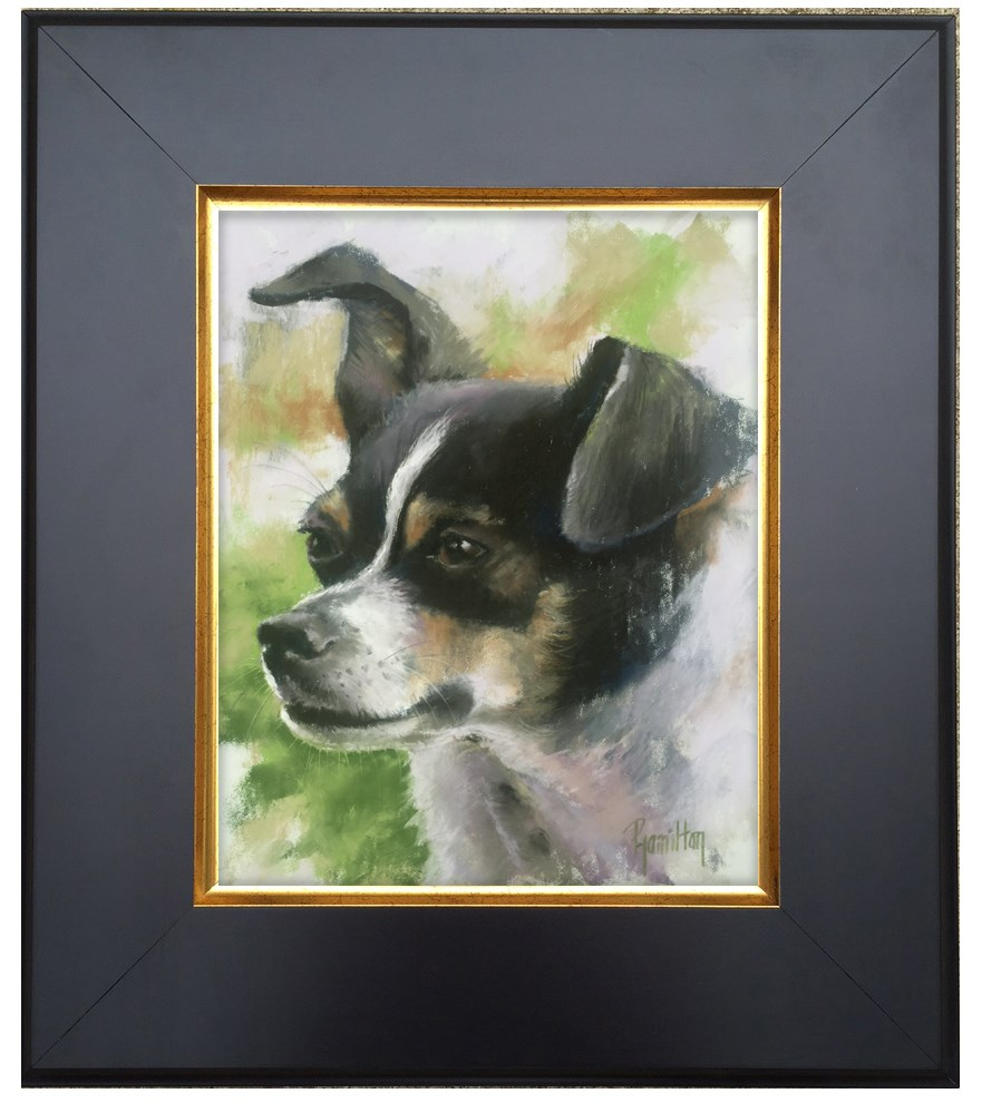 """Little Buddy"" original fine art by Pamela Hamilton"