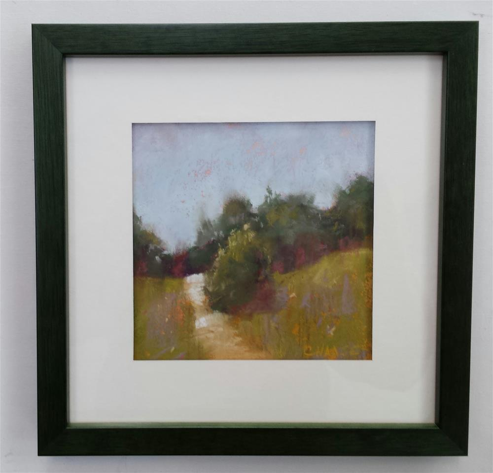 """Around the Bend"" original fine art by Cindy Haase"