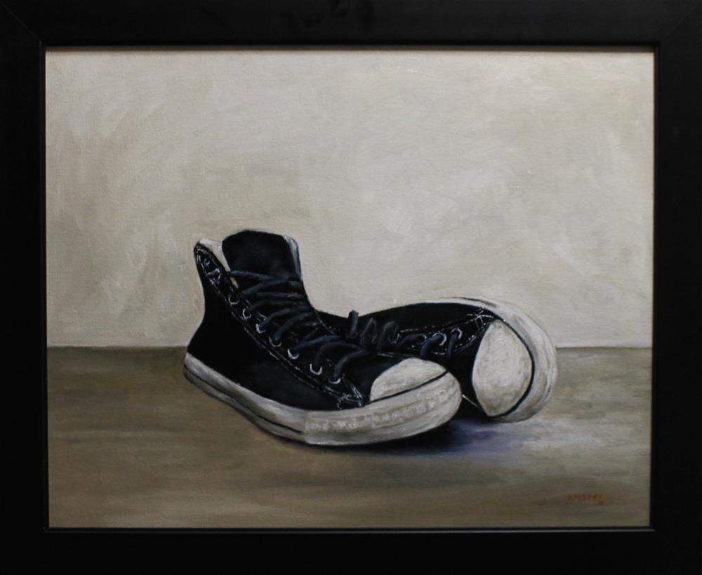 """My Chucks"" original fine art by Daniel Varney"
