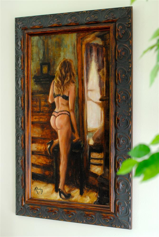 """Her Other Lover"" original fine art by Kelly Berkey"