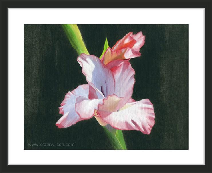 """Summer Bloom"" original fine art by Ester Wilson"