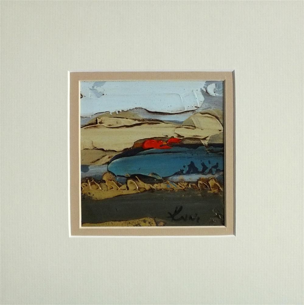 """Landscape 173"" original fine art by Ewa Kunicka"