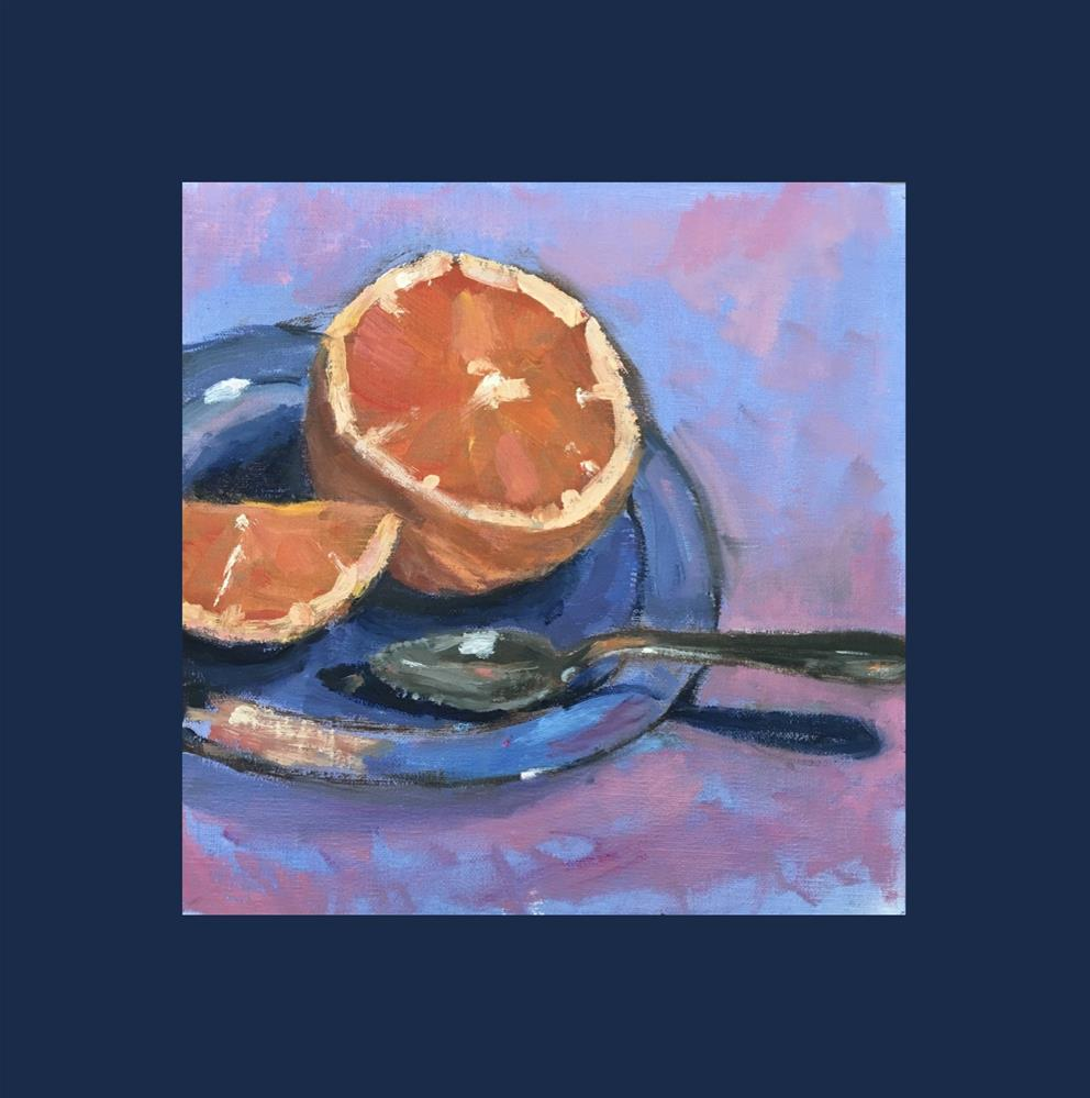 """Grapefruit Spoon"" original fine art by Victoria  Biedron"