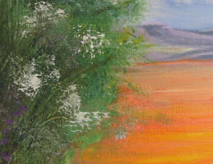 """Summer Fields"" original fine art by Susan  Mackenzie"
