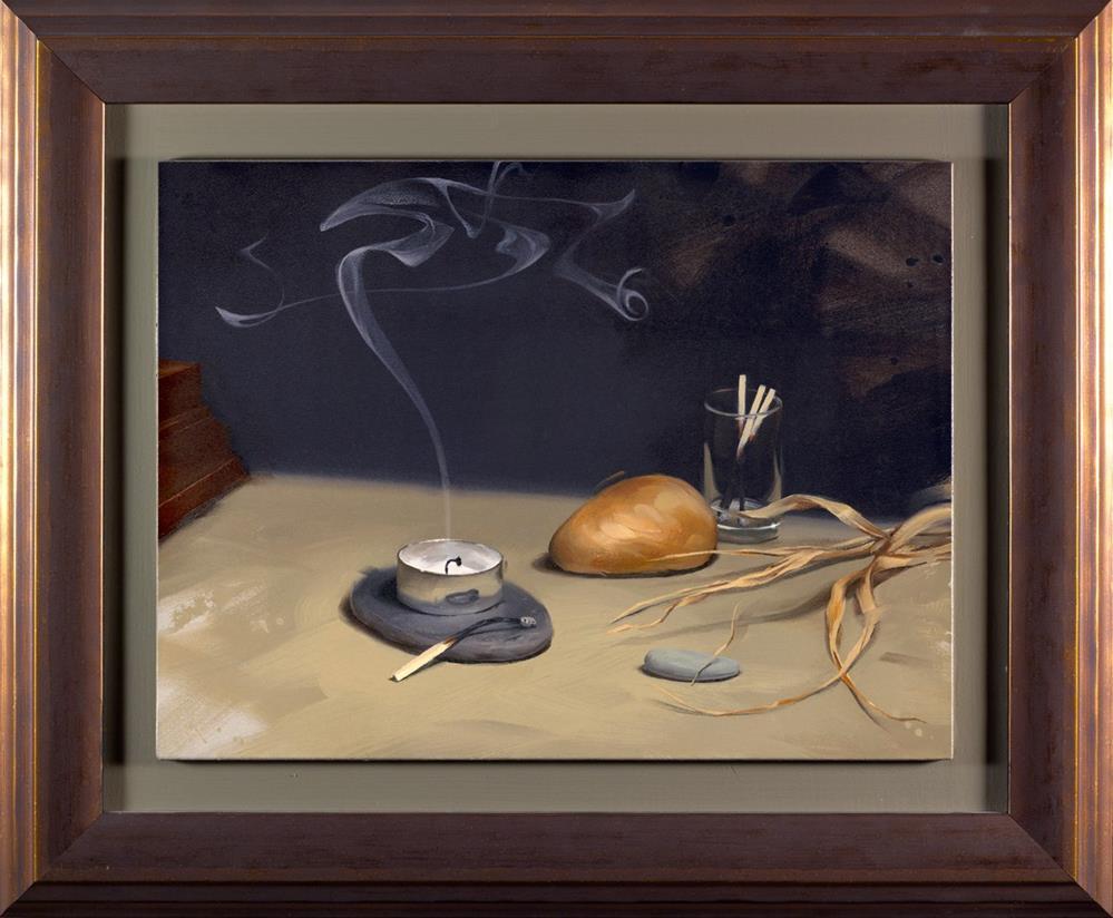 """""""Illumination - Framed!"""" original fine art by Rob  Rey"""