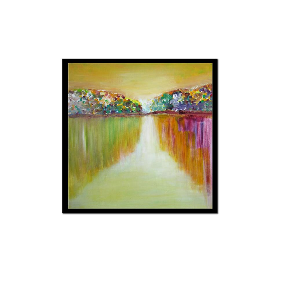"""Colorful Spring"" original fine art by Alina Frent"