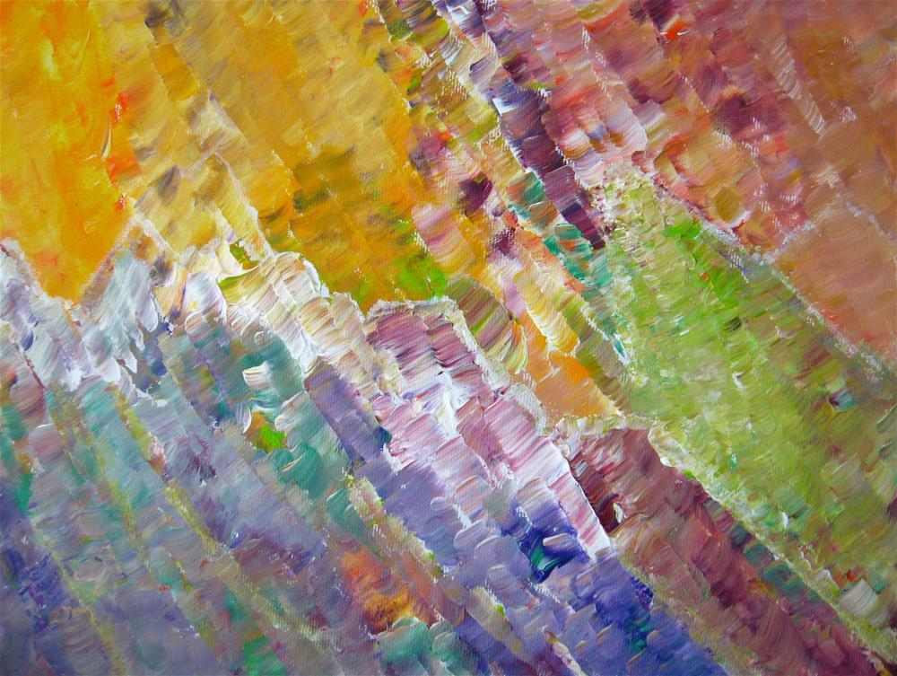 """World of Minerals"" original fine art by Alina Frent"