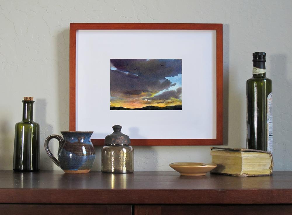 """Nightfall"" original fine art by Linda Henry"