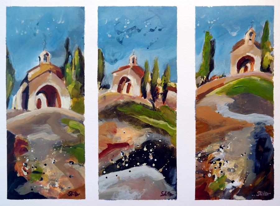 """""""1835 High Chapel 3"""" original fine art by Dietmar Stiller"""