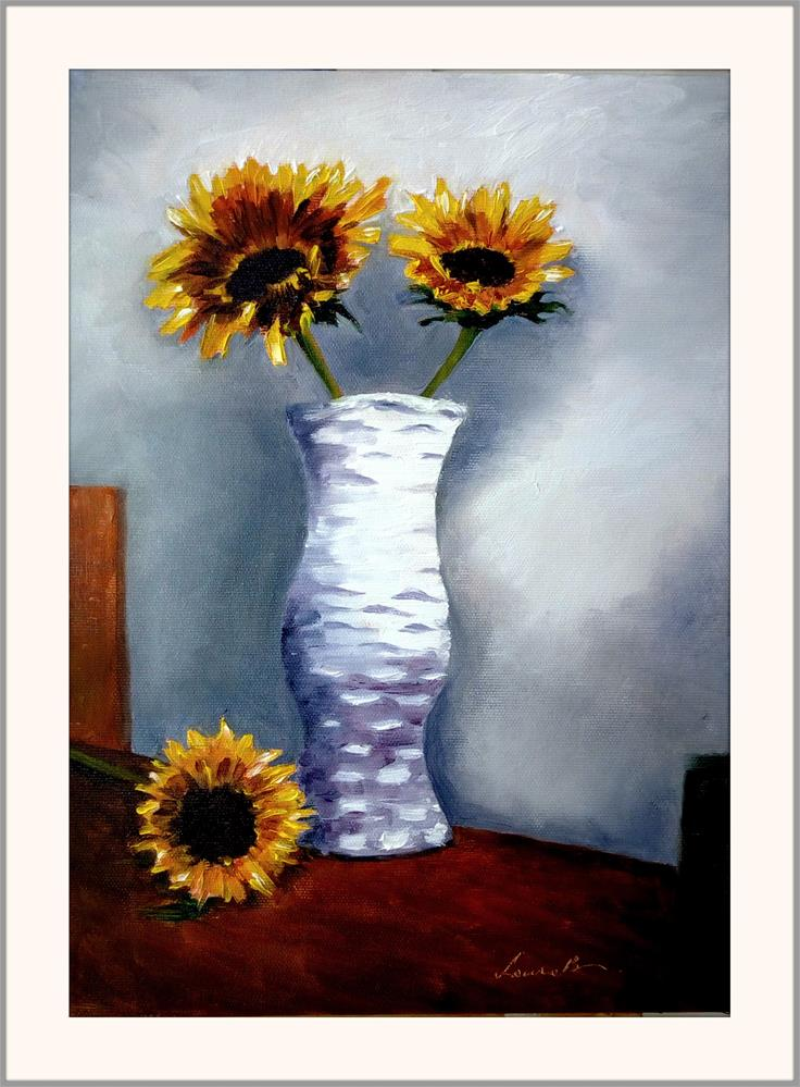 """End of September"" original fine art by Laura B."