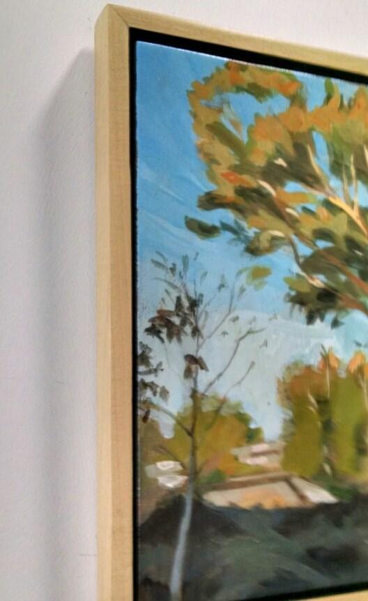 """Reed Creek Greenway"" original fine art by Nat Dickinson"