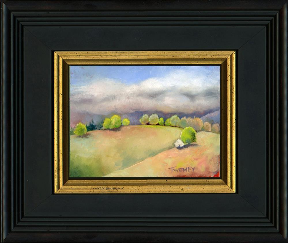 """Sun Break Hill"" original fine art by Catherine Twomey"
