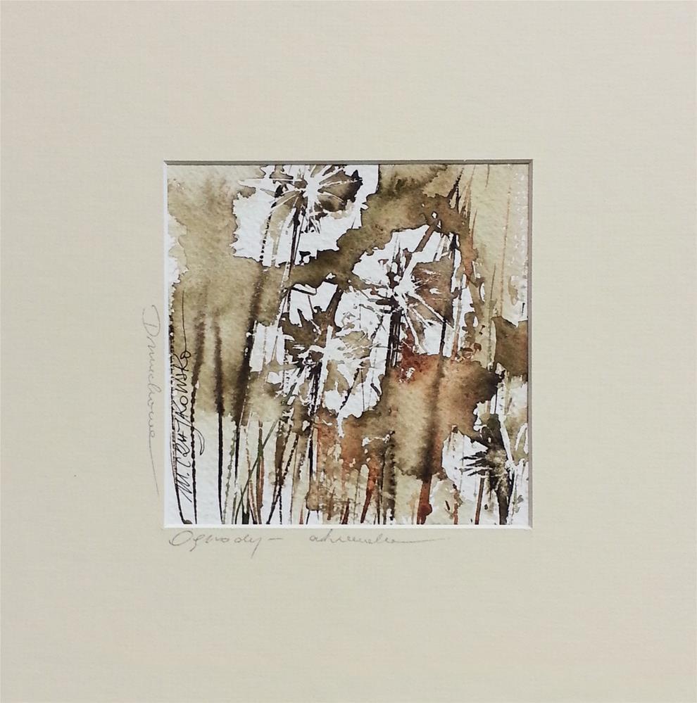 """Dandelion 2"" original fine art by Marlena Czajkowska"