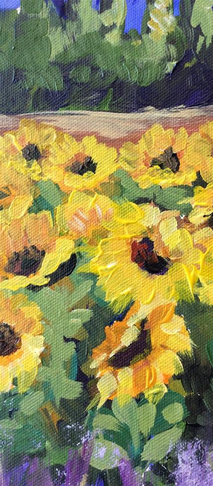 """Tuscan Sun"" original fine art by Molly Rohrscheib Hathaway"