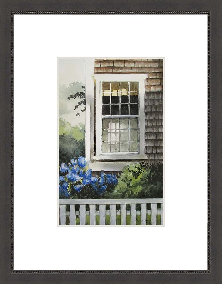 """Nantucket Window"" original fine art by Kara K. Bigda"