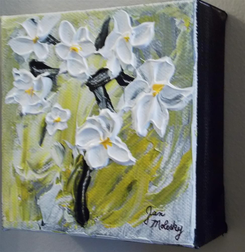 """Petal Power"" original fine art by Jan Molesky"