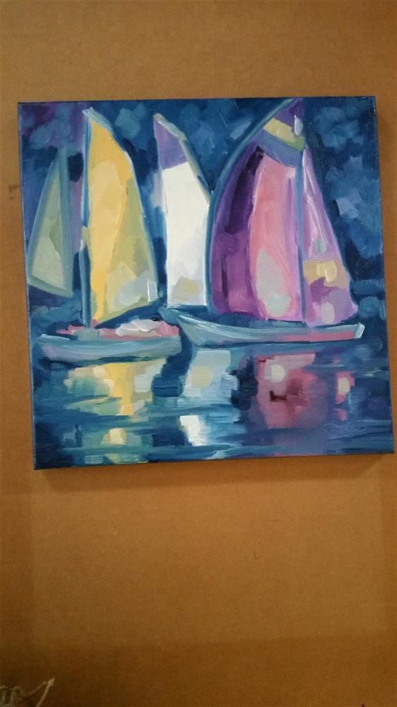 """Summer Haze"" original fine art by Leni Tarleton"