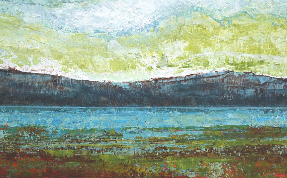 """Edge of the Lake"" original fine art by Sage Mountain"