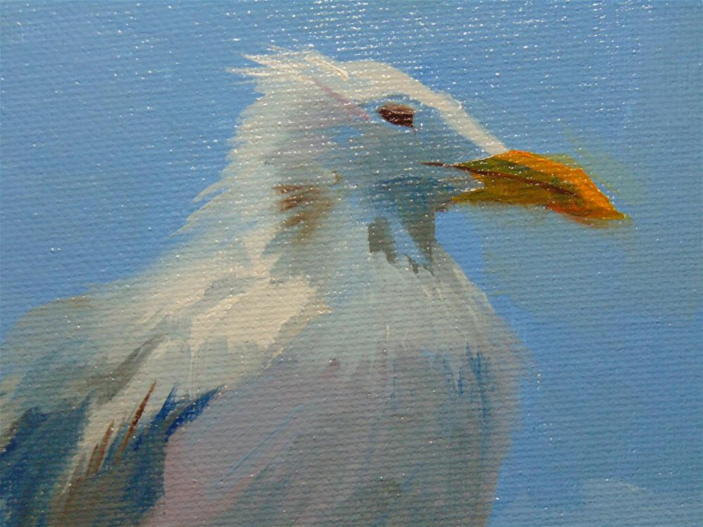 """Reedville Resident 2"" original fine art by Catherine Kauffman"