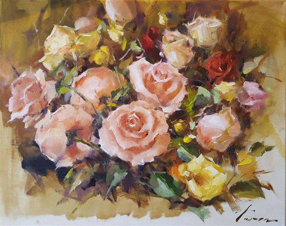 """Rose01"" original fine art by Teresa Yoo"