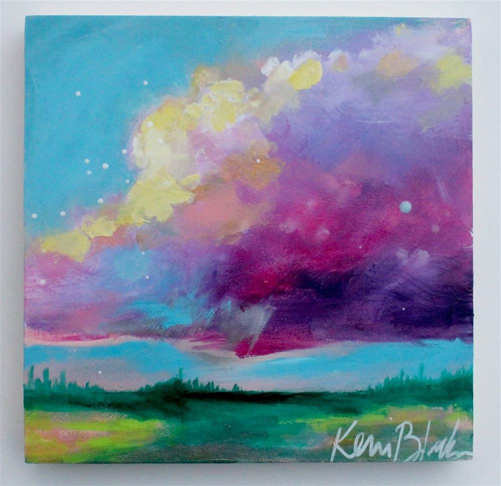 """Cloud Watching "" original fine art by Kerri Blackman"